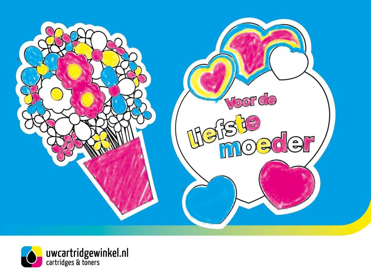 Moederdag: kleurplaat voor mama!