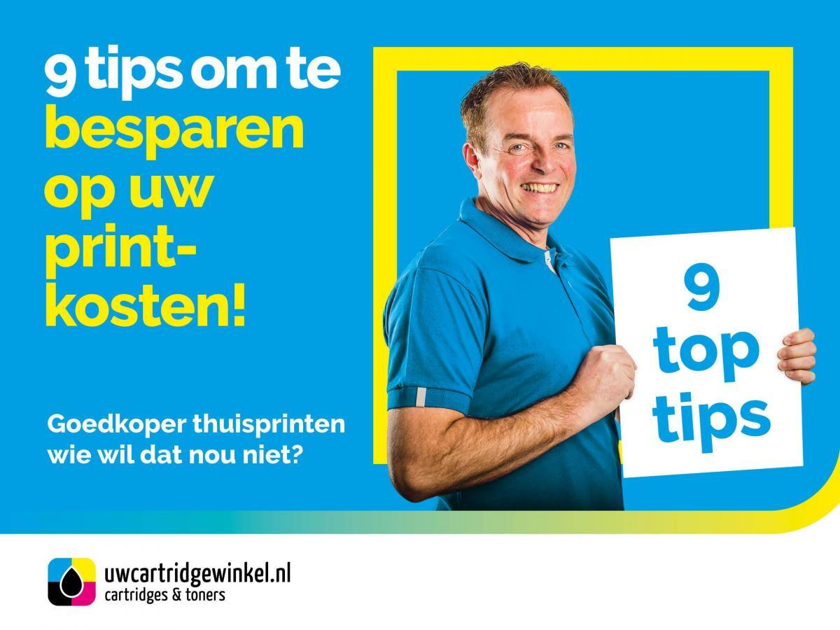 Zuiniger printen - UwCartridgeWinkel.nl