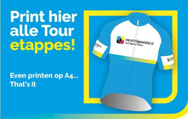 Tour etappes printen