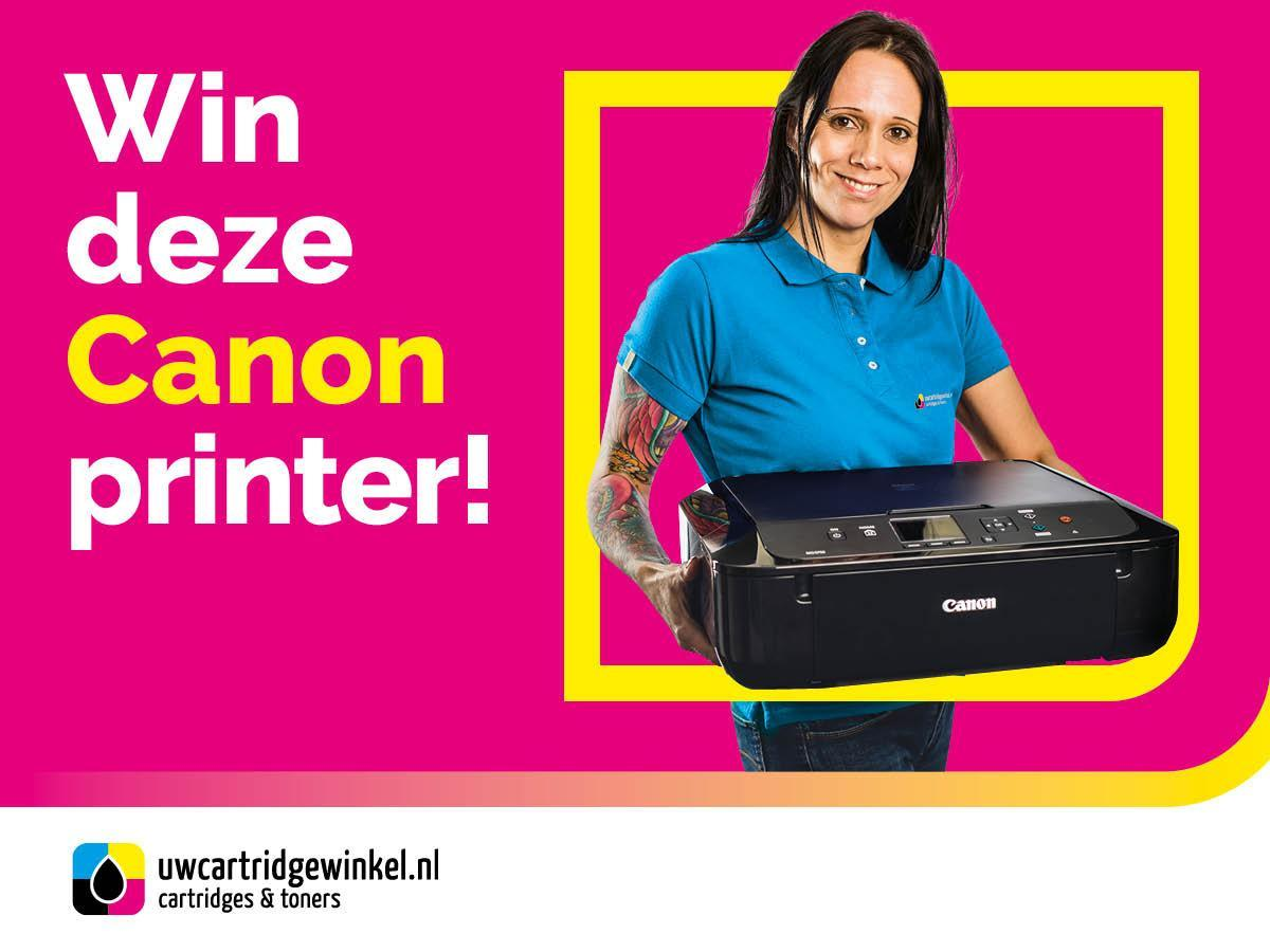 Win een Canon PIXMA MG5750 met inkt