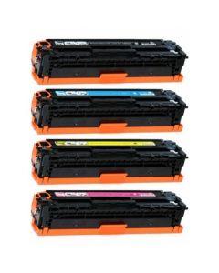 Huismerk HP 128A (CE320A-CE323A) multipack (zwart + 3 kleuren)