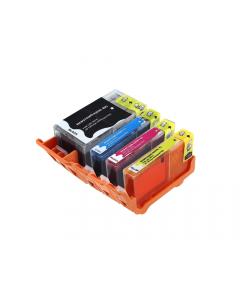 Huismerk HP 920XL multipack zwart + 3 kleuren incl. chip