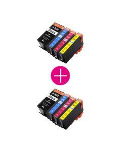 2 x Huismerk HP 934XL + HP 935XL multipack zwart + 3 kleuren incl. chip