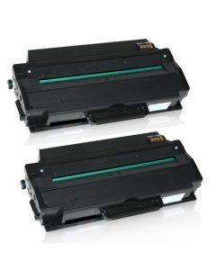 2 x Huismerk Samsung MLT-D103L zwart