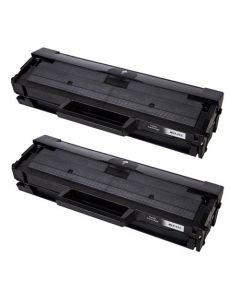 2 x Huismerk Samsung MLT-D111S zwart