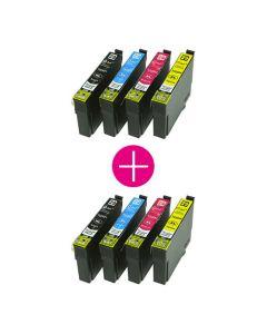 2 x Huismerk Epson 29XL (T2996) multipack incl. chip