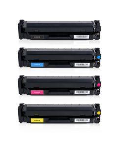 Huismerk HP 410X (CF410X-CF413X) multipack zwart + 3 kleuren