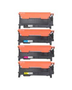 Huismerk Samsung CLT-P404C multipack zwart + 3 kleuren