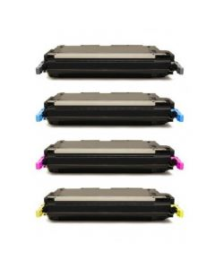 Huismerk HP 501A (Q6470A-Q6473A) multipack zwart + 3 kleuren