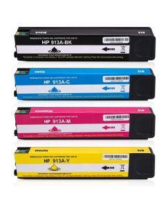 Huismerk HP 913A multipack (zwart + 3 kleuren)