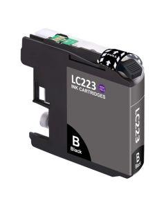 Huismerk Brother LC-223BK zwart incl. chip