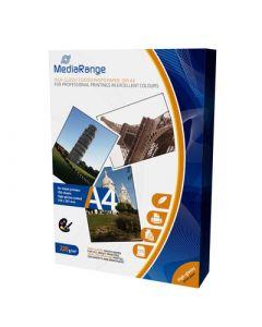 Fotopapier (A4) hoogglans - 220g - 100 vellen (MediaRange)