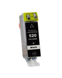 Huismerk Canon PGI-520BK zwart incl. chip