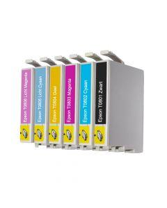 Huismerk Epson T0807 multipack (zwart + 5 kleuren)