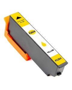 Huismerk Epson 26XL (T2634) geel incl. chip