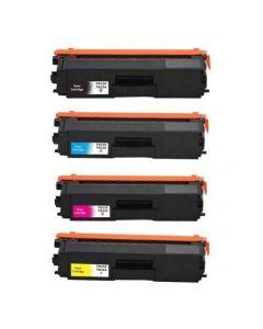 Huismerk Brother TN-326 multipack zwart + 3 kleuren