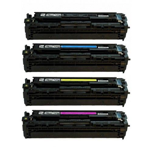 Huismerk HP 125A (CB540A-CB543A) multipack (zwart + 3 kleuren)