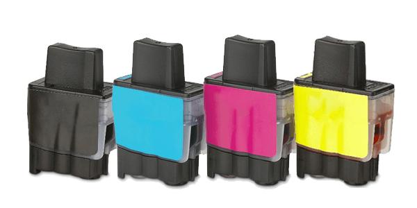 Huismerk Brother LC-900 multipack (zwart + 3 kleuren)