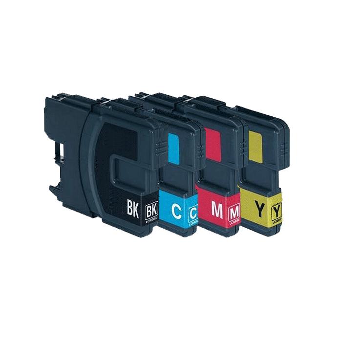 Huismerk Brother LC-980 XL multipack (zwart + 3 kleuren)
