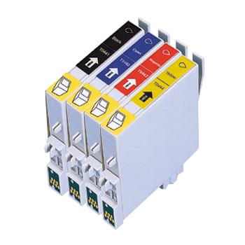 Huismerk Epson T0445 multipack (zwart + 3 kleuren)