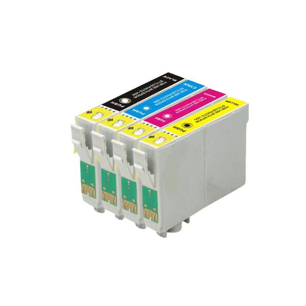 Huismerk Epson T1285 multipack (zwart + 3 kleuren)