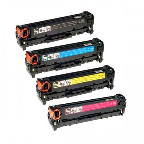 Huismerk HP 305 (CE410X-CE413A) multipack (zwart + 3 kleuren)