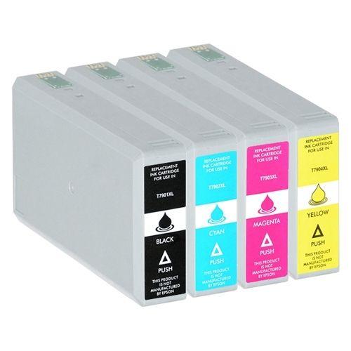 Huismerk Epson 79XL multipack (zwart + 3 kleuren)