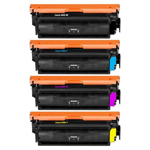 Huismerk Canon 040H multipack (zwart + 3 kleuren)