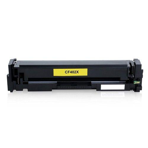 Huismerk HP 201X (CF402X) geel