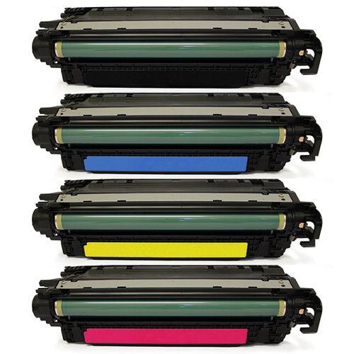 Huismerk HP 504X (CE250X-CE253A) multipack (zwart + 3 kleuren)