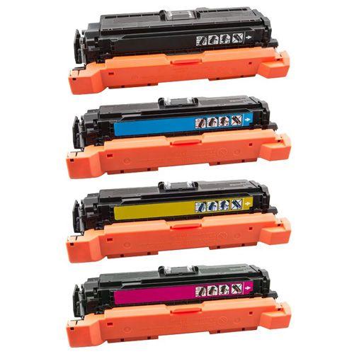Huismerk HP 507X (CE400X-CE403A) multipack (zwart + 3 kleuren)