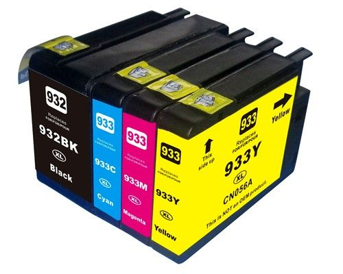 Huismerk HP 932XL + HP 933XL multipack (zwart + 3 kleuren)