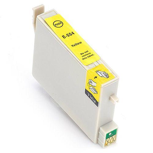 Huismerk Epson T0554 geel