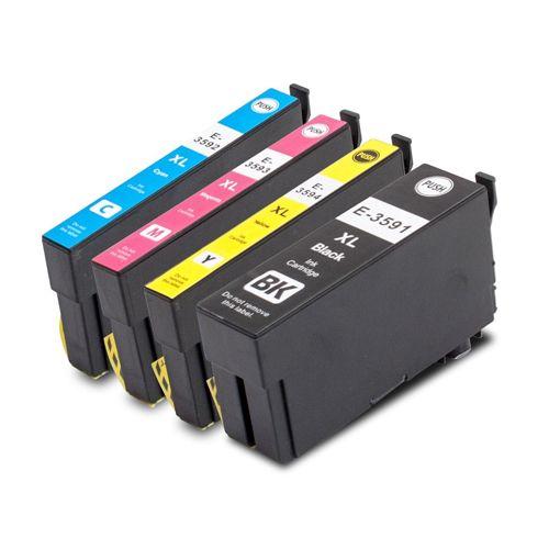 Huismerk Epson 35XL (T3596) multipack (zwart + 3 kleuren)