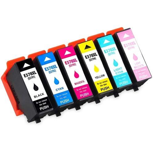 Huismerk Epson 378XL (T3798) multipack (zwart + 5 kleuren)