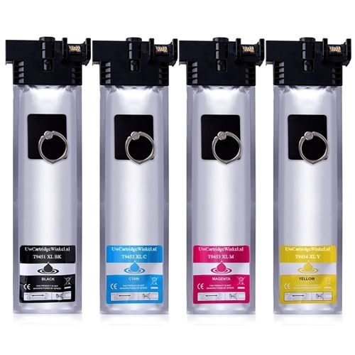 Huismerk Epson T9451 - T9454 multipack (zwart + 3 kleuren)