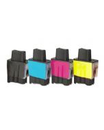 Huismerk Brother LC-900 multipack zwart + 3 kleuren