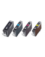 Huismerk Canon PGI-5 + CLI-8 multipack (zwart + 3 kleuren)
