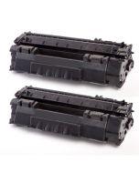 2 x Huismerk Canon 715 zwart