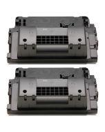 2 x Huismerk HP 64X (CC364X) zwart