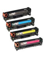Huismerk HP 304A (CC530A-CC533A) multipack zwart + 3 kleuren