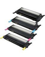 Huismerk Samsung CLT-P4092C multipack zwart + 3 kleuren