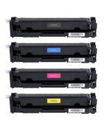 Huismerk HP 410A (CF410A-CF413A) multipack zwart + 3 kleuren