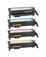 Huismerk Samsung CLT-P406C multipack zwart + 3 kleuren