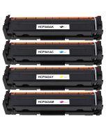 Huismerk HP 203A (CF540A-CF543A) multipack zwart + 3 kleuren