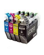 Huismerk Brother LC-3213XL multipack (zwart + 3 kleuren)