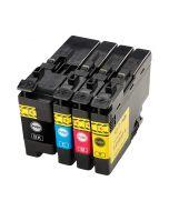 Huismerk Brother LC-3237XL multipack (zwart + 3 kleuren)