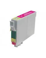 Huismerk Epson T0713 magenta incl. chip