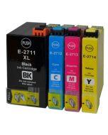 Huismerk Epson 27XL (T2715) multipack (zwart + 3 kleuren)