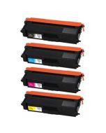 Huismerk Brother TN-321 multipack zwart + 3 kleuren